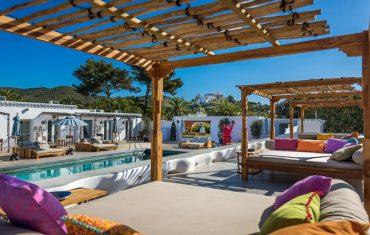 ibizazen pool cabana view