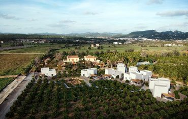 Can Jaume View of the Private Villas